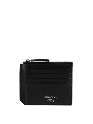 Jimmy Choo: wallets & purses - Colby leather cardholder