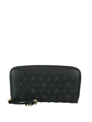 Jimmy Choo: wallets & purses - Filipa black leather wallet