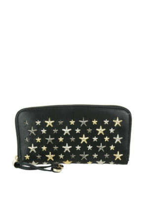 Jimmy Choo: wallets & purses - Filipa mixed stars black wallet