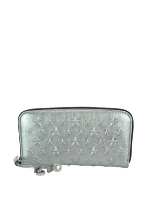 Jimmy Choo: wallets & purses - Filipa platinum leather wallet