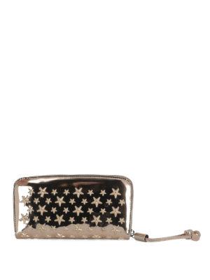 Jimmy Choo: wallets & purses - Filipa studded wallet
