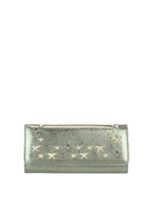 Jimmy Choo: wallets & purses - Nino shimmering leather wallet