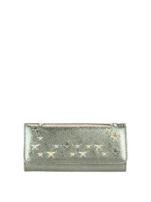 Jimmy Choo: wallets & purses - Nino shimmering leather wallet