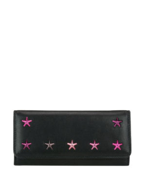 Jimmy Choo: wallets & purses - Nino wallet with degradé stars