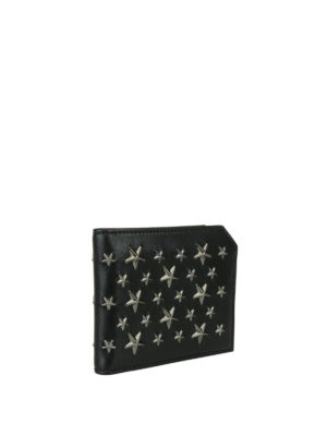 Jimmy Choo: wallets & purses online - Albany wallet with metal stars