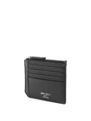 Jimmy Choo: wallets & purses online - Belmont star embossed cardholder