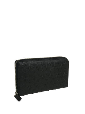 Jimmy Choo: wallets & purses online - Carnaby embossed stars wallet