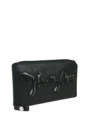Jimmy Choo: wallets & purses online - Carnaby leather wallet