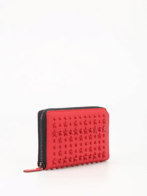 Jimmy Choo: wallets & purses online - Carnaby stars leather wallet