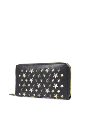 Jimmy Choo: wallets & purses online - Carnaby zip-around leather wallet