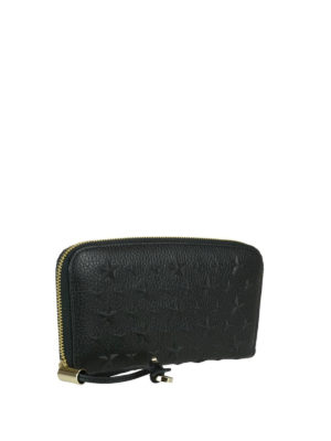 Jimmy Choo: wallets & purses online - Filipa black leather wallet