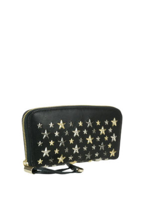 Jimmy Choo: wallets & purses online - Filipa mixed stars black wallet