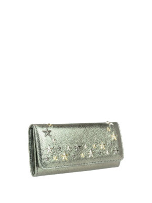 Jimmy Choo: wallets & purses online - Nino shimmering leather wallet