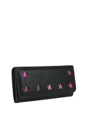 Jimmy Choo: wallets & purses online - Nino wallet with degradé stars