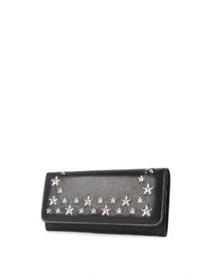 Jimmy Choo: wallets & purses online - Star stud leather wallet