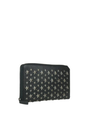 Jimmy Choo: wallets & purses online - Travis leather wallet with stars