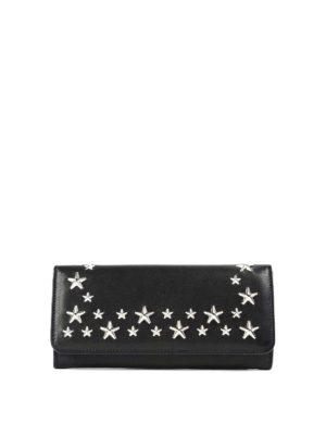 Jimmy Choo: wallets & purses - Star stud leather wallet