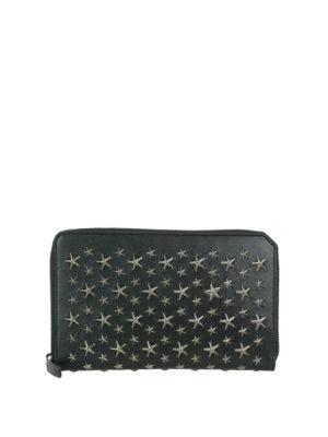 Jimmy Choo: wallets & purses - Travis leather wallet with stars