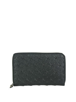 Jimmy Choo: wallets & purses - Travis wallet with embossed stars