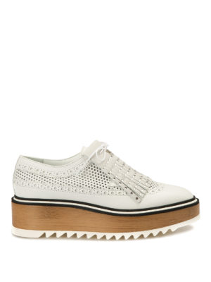 John Richmond: lace-ups shoes - Embellished fringe leather Oxford