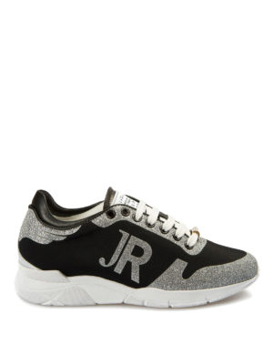 John Richmond: trainers - Glitter detailed sneakers