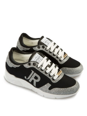 John Richmond: trainers online - Glitter detailed sneakers