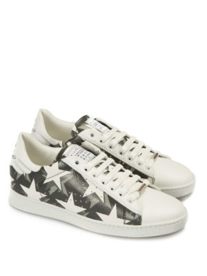John Richmond: trainers online - Rock'n'roll star print sneakers