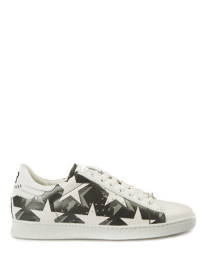 John Richmond: trainers - Rock'n'roll star print sneakers