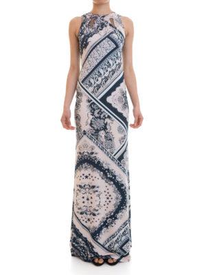 Just Cavalli: evening dresses online - Embellished jersey long dress