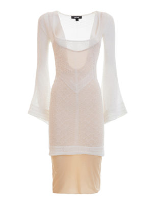 Just Cavalli: short dresses - Cotton jersey fitted dress