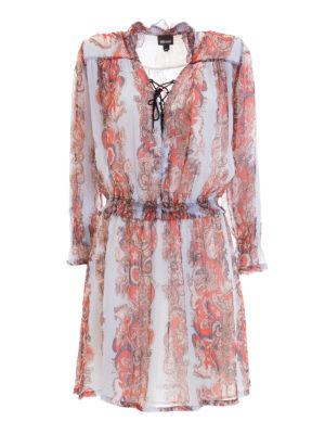 Just Cavalli: short dresses - Lightweight printed viscose dress