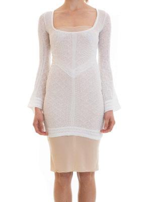 Just Cavalli: short dresses online - Cotton jersey fitted dress