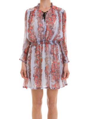 Just Cavalli: short dresses online - Lightweight printed viscose dress