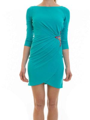 Just Cavalli: short dresses online - Star applique draped dress