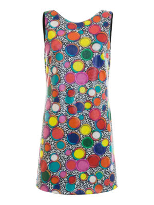 Just Cavalli: short dresses - Sequined multicolour dress