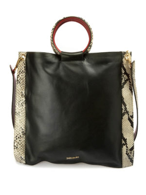 Just Cavalli: shoulder bags - Python details bag