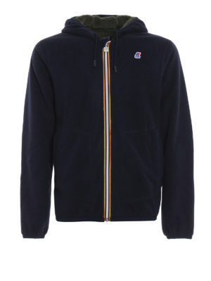 K-WAY: giacche casual - Giacca double Jacques in pile con cappuccio
