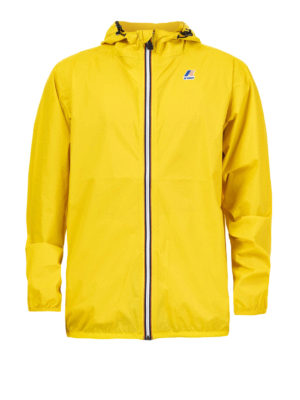 K-WAY: casual jackets - Le Vrai 3.0 Claude yellow jacket