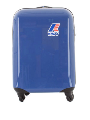 K-WAY: Luggage & Travel bags - K-Way System blue trolley