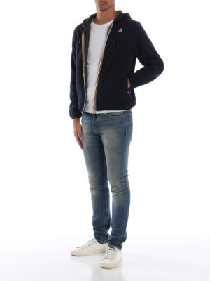 K-WAY: giacche casual online - Giacca double Jacques in pile con cappuccio