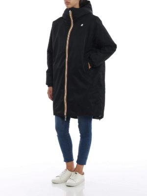 K-WAY: cappotti imbottiti online - Parka Clelie con interno effetto pelliccia