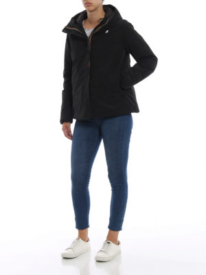 K-WAY: giacche imbottite online - Giacca imbottita Marguerite con cappuccio