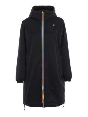 K-WAY: cappotti imbottiti - Parka Clelie con interno effetto pelliccia