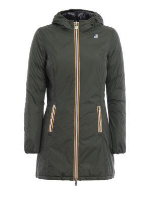 k-way: padded coats - Denise Thermo Double coat