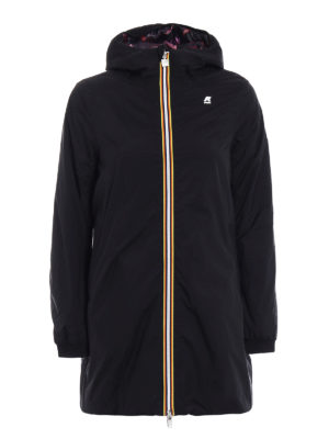 k-way: padded coats - Lolie Graphic double warm parka