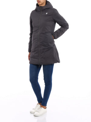k-way: padded coats online - Sophie Thermo Stretch double parka