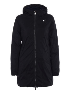 k-way: padded coats - Sophie Thermo Stretch double parka