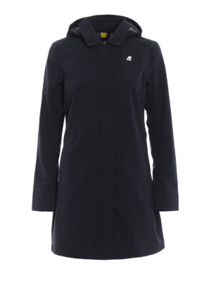 k-way: trench coats - Mathilde Bonded Jersey raincoat