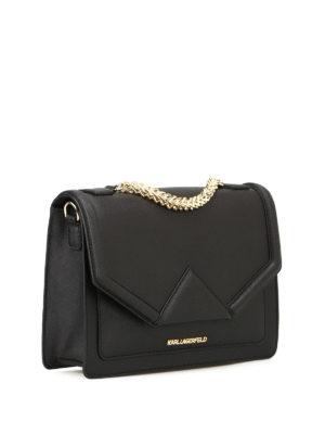 Karl Lagerfeld: shoulder bags online - K/Klassic saffiano shoulder bag