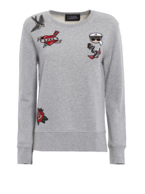 Karl Lagerfeld: Sweatshirts & Sweaters - Captain Karl sweatshirt